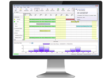 Desktop scheduling software