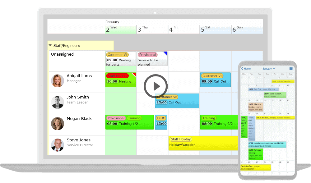 Play scheduling software introduction video